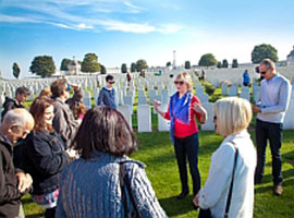 Flanders Fields Battlefield guided day tour to the Ypres Salient with option for the Last Post Ceremony.